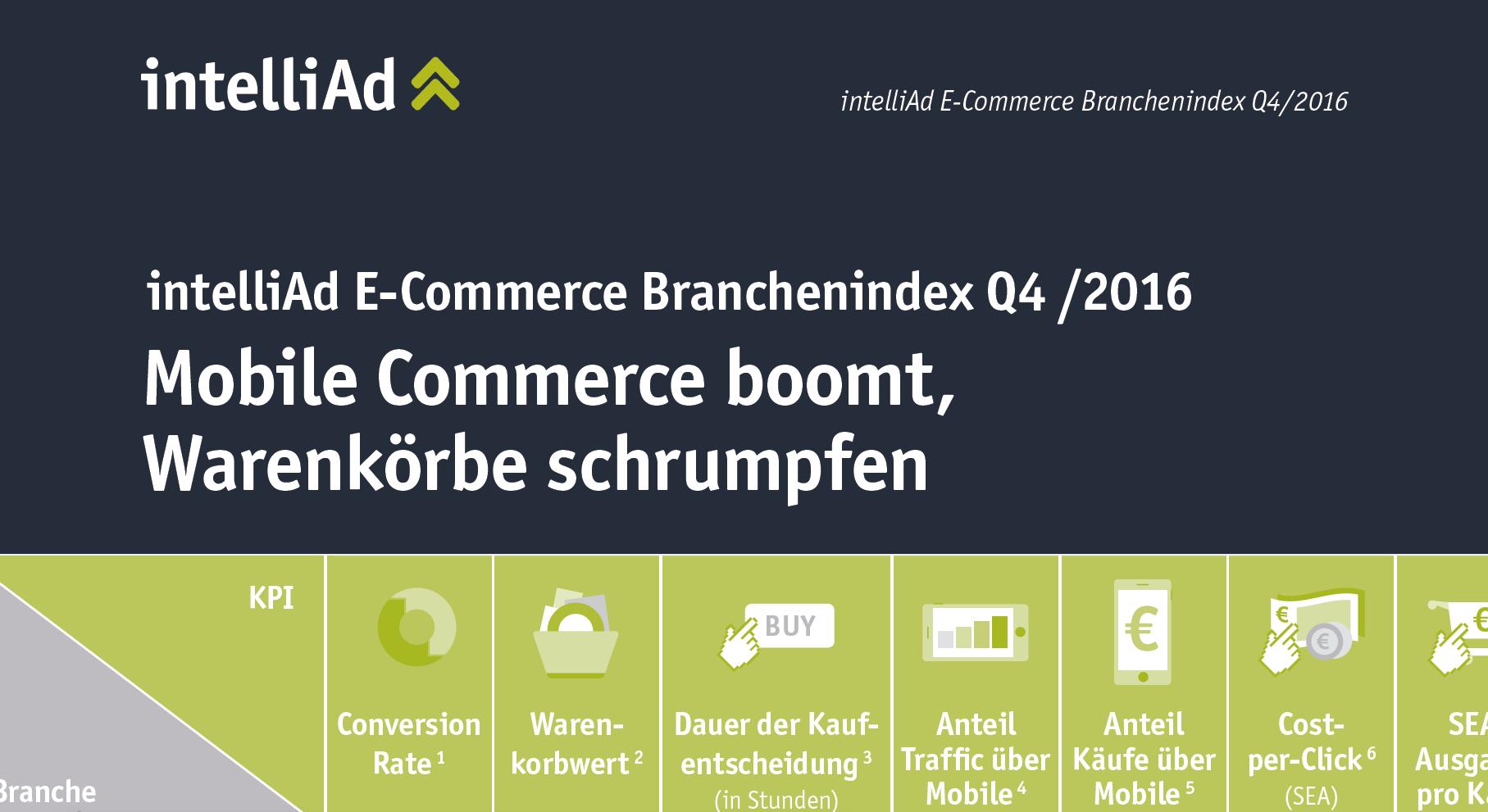 E-Commerce Branchenindex Q4
