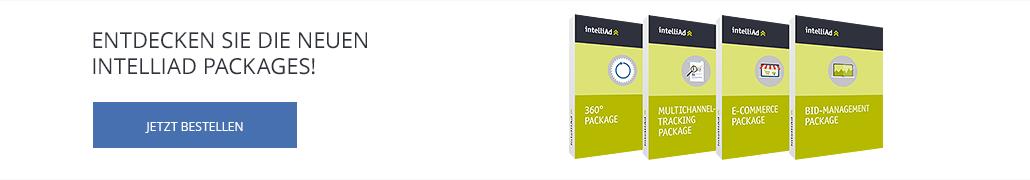 Entdecken Sie die neuen intelliAd Packages!
