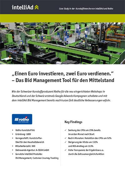 Case Study aus der Kunststoffbranche: Rotho