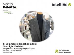 Cover E-Commerce Branchenindex: Spotlight Fashion