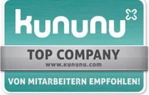 Kununu - Von Mitarbeitern empfohlen!