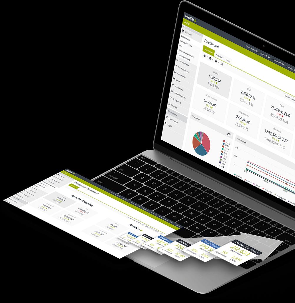 Laptop Header E Commerce