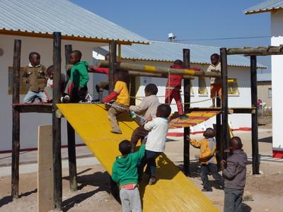 Kinderspielplatz für die Vorschulkinder in Okakarara