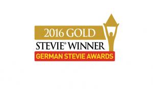 Gold Stevie Award 2016