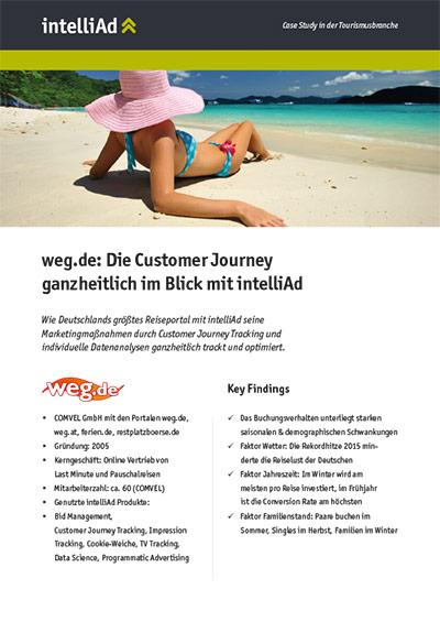 Case Study aus der Tourismusbranche: weg.de Reiseanalyse