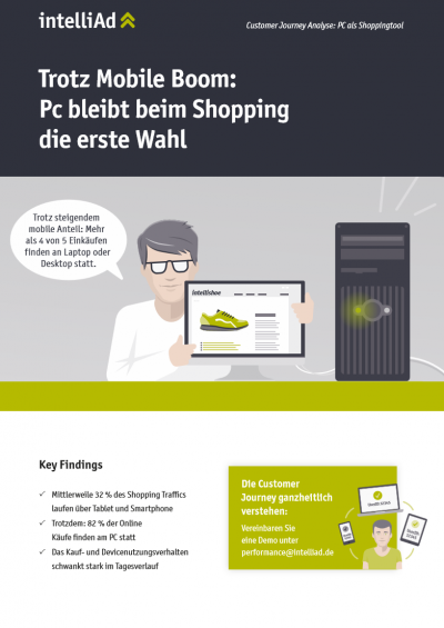 Customer Journey Analyse: PC als Shoppingthool