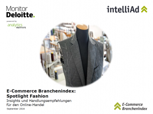 Cover E-Commerce Branchenindex: Spotlight Fashion