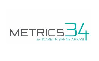 Metrics34 Logo