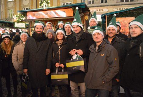 Weihnachtsmarkt mit dem Team von intelliAd