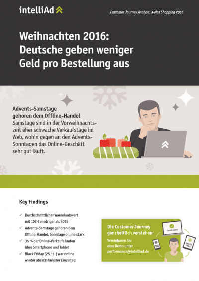 Customer Journey Analyse: X-Mas Shopping 2016