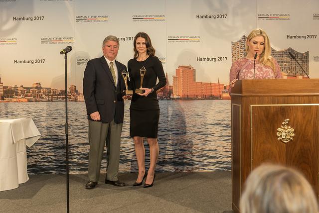 Sarah Unseld, CMO bei den German Stevie Awards